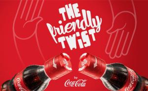 Campanha da Coca-Cola incentiva novas amizades!