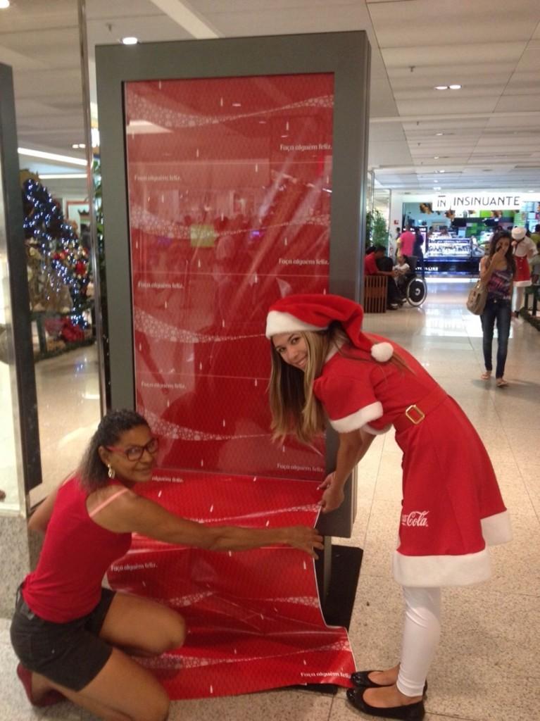 Embrulho de Natal Coca-Cola_Salvador