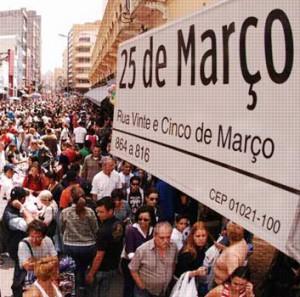 150 anos da rua 25 da março!
