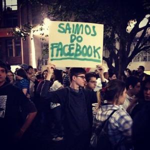 Redes sociais nas manifestações