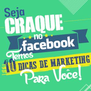 Seja craque no Facebook!
